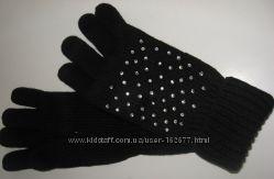 Вязанные перчатки, можна удлиненные, в наличии