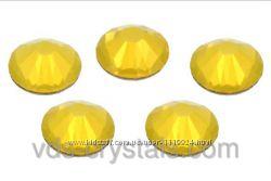 Стразы Сваровски для ногтей Yellow Opal
