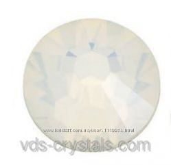 Камни Сваровски для ногтей White Opal