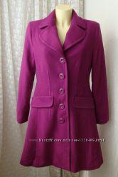 Пальто модное красивое шерсть South р. 46 7100