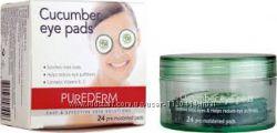 подушечки для глаз с огуречным экстрактом Purederm Cucumber Eye Pads