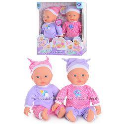 Куклы-близняшки Беби борн, M5370, говорят по 25 фраз Limo Toy