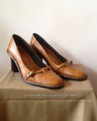 Очень удобные кожаные туфли