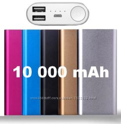 Внешний аккумулятор Power Bank 10 000 mAh
