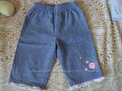 Штанці для дівчинки 6-9 місяців