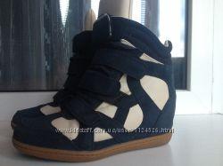 демисезонные ботинки сникерсы