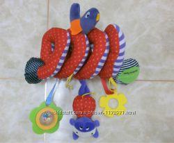 Развивающая игрушка-спираль на кроватку, коляску
