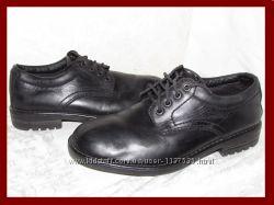 Туфли мужские натуральная кожа M&S BLUE HARBOUR р 39