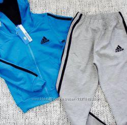 Утеплённый спортивный костюм для мальчика Adidas