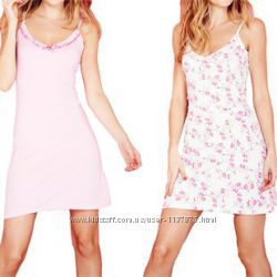 Ночная рубашка розовая и цветочек, размер 50