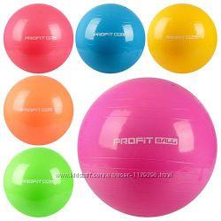 Фитнес мяч, Фитбол, 3 размера, 4 цвета PROFIT