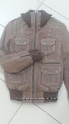 кожаная куртка Tom TAYLOR