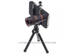 Cупер оптика 8x Telescope LensTripodCase для iPhone 55G5S