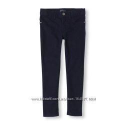 Джеггинсы jeggings джинсы Childrens Place 6р темно-синие, брюки в школу
