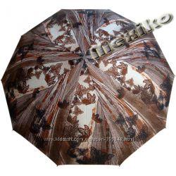 Бесплатная доставка Модный зонт ZEST, полуавт, серия 10 спиц, Ажурные бабочки