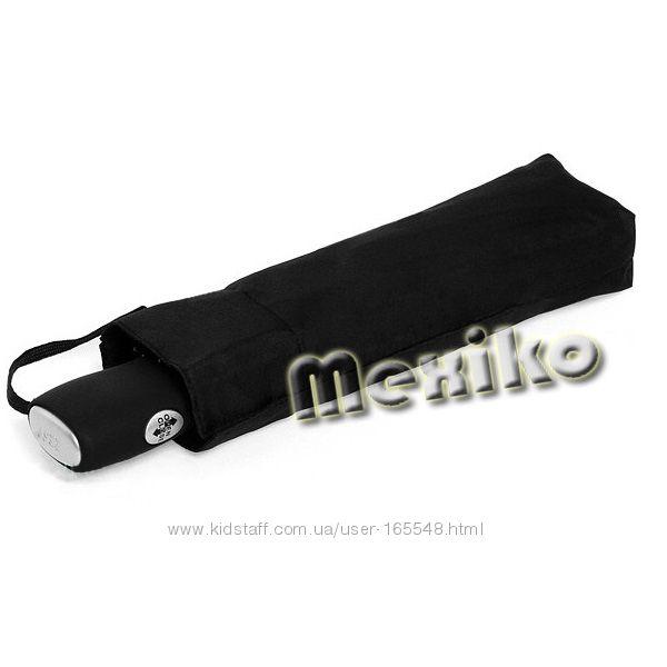 Бесплатная доставка. Плоский мужской зонт ZEST полный автомат 3 слож 13810
