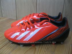 Бутсы Adidas F10F50 , стелька 22, 2 см , р. 35, 5 UK 3