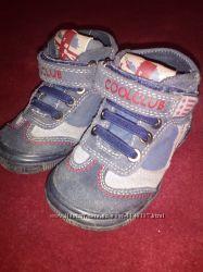 Демисезонные ботиночки для двойни, близнецов р. 20 и 21. Состояние новых