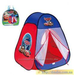 Детская палатка Тачки Play Smart 811S