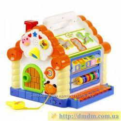 Теремок - музыкальный сортер Limo Toy Joy Toy 9196