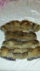 жилетка, натуральный мех