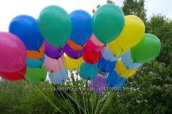Латексные шарики с гелием
