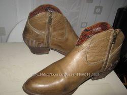 р39. Великолепные кожаные ботиночки Португалия, привезены моряком