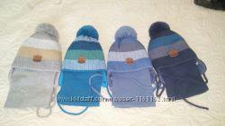 Набор шапка и шарф для мальчиков