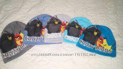 Стильные детские шапочки Crazy birds