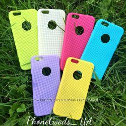 Яркие, силиконовые чехлы на IPhone6, 6S