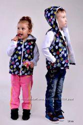 Дуже гарні, якісні та яскраві дитячі безрукавки