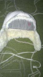Детская зимняя шапочка для девочки размер 53