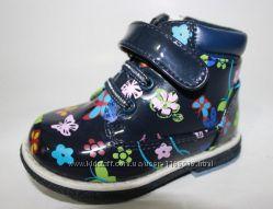 Демисезонные ботиночки для девочек ТМ Y-Top. р-р 22-27