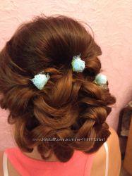 Плетение французских кос и колоски