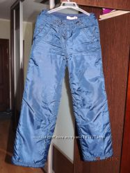 Продам теплые брюки фирмы SELA на девочку рост 146 см