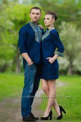 Вишиванка чоловіча і жіноча вишита сукня