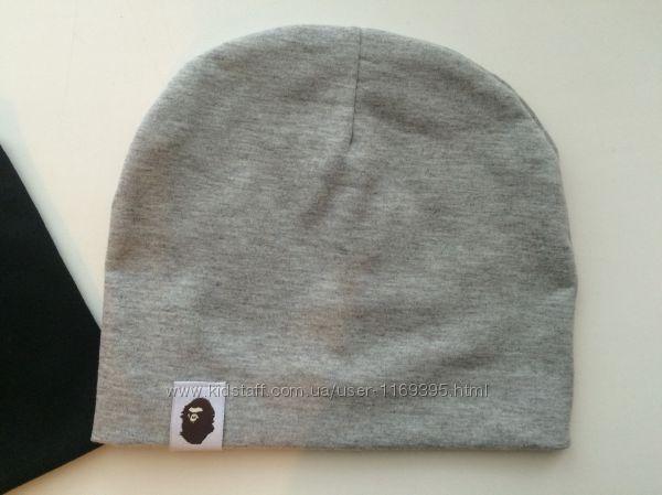 Новая шапка шапочка  серая 44-49см