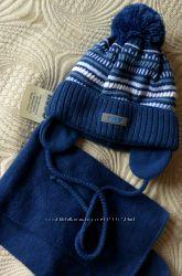 шапка шарф комплект новый с биркой Польша цену снизила