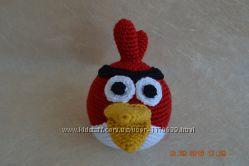вязаные игрушки angry birds