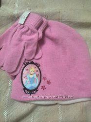шапка деми-сезон перчатки