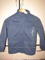 Куртка-пальто Tommy Hilfiger, рост116-122. Деми. Новая.