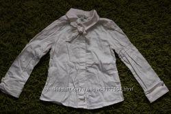 Блуза беленькая, рубашка разм 98