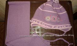 Продам зимний комплект шапка и шарф