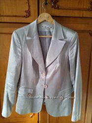 Женский пиджак от петра сороки нарядный дизайнерский серый