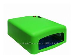 Ультрафиолетовая лампа для сушки геля, гель-лака на 36 Вт