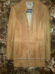 куртка, кожа, замш