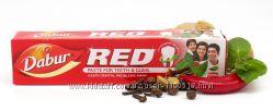 Зубная паста Красная Red Dabur оригинал - все проблемы зубов и ротов. полос