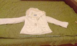 Куртка белая, осень-весна, новая, Италия, размер М, торг