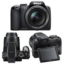 Nikon Coolpix p90, 24 кратный зум
