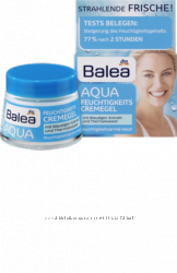 Balea Aqua Зволожуючий крем для обличчя 50мл.